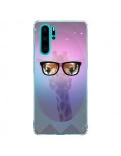 Coque Huawei P30 Pro Girafe Geek à Lunettes - Aurelie Scour