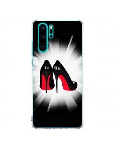 Coque Huawei P30 Pro Chaussures Semelles Rouges Red Soles Femme - Aurelie Scour