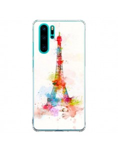 Coque Huawei P30 Pro Paris Tour Eiffel Muticolore - Asano Yamazaki
