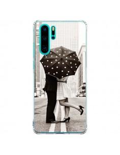 Coque Huawei P30 Pro Secret under Umbrella Amour Couple Love - Asano Yamazaki