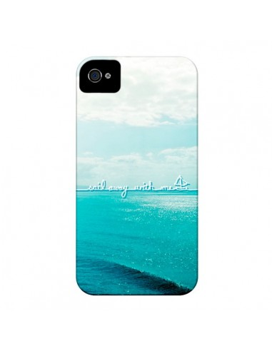 Coque Sail with me pour iPhone 4 et 4S - Lisa Argyropoulos