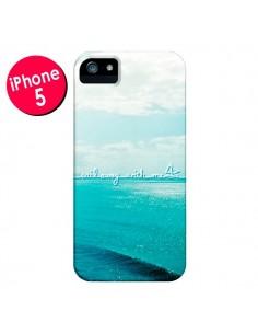 Coque Sail with me pour iPhone 5 et 5S - Lisa Argyropoulos