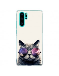 Coque Huawei P30 Pro Chat à lunettes - Gusto NYC