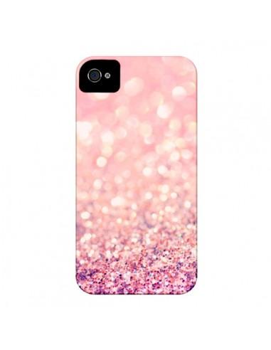 Coque Paillettes Blush pour iPhone 4 et 4S - Lisa Argyropoulos