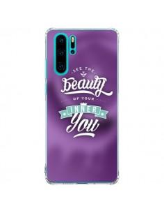 Coque Huawei P30 Pro Beauty Violet - Javier Martinez