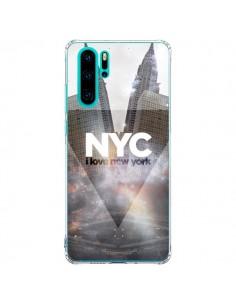Coque Huawei P30 Pro I Love New York City Gris - Javier Martinez
