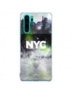 Coque Huawei P30 Pro I Love New York City Vert - Javier Martinez