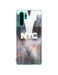 Coque Huawei P30 Pro I Love New York City Orange - Javier Martinez