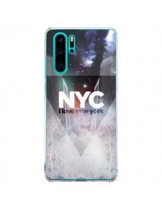 Coque Huawei P30 Pro I Love New York City Bleu - Javier Martinez