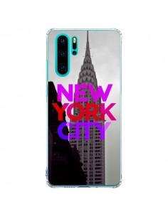 Coque Huawei P30 Pro New York City Rose Rouge - Javier Martinez
