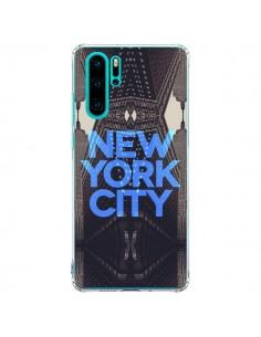Coque Huawei P30 Pro New York City Bleu - Javier Martinez