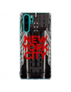 Coque Huawei P30 Pro New York City Rouge - Javier Martinez