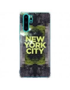 Coque Huawei P30 Pro New York City Vert - Javier Martinez