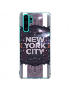Coque Huawei P30 Pro New York City Violet - Javier Martinez