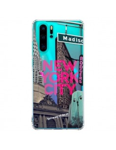 Coque Huawei P30 Pro New Yorck City NYC Transparente - Javier Martinez