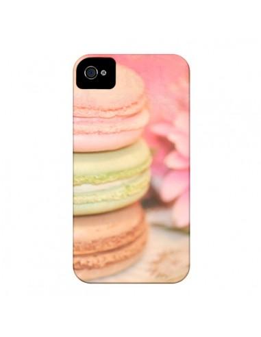 Coque Macarons pour iPhone 4 et 4S - Lisa Argyropoulos