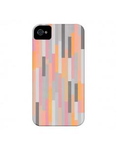 Coque Bandes Couleurs pour iPhone 4 et 4S - Leandro Pita