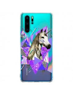 Coque Huawei P30 Pro Licorne Unicorn Azteque Transparente - Kris Tate