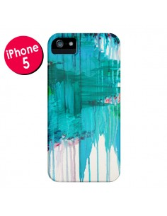 Coque Blue Monsoon pour iPhone 5 - Ebi Emporium
