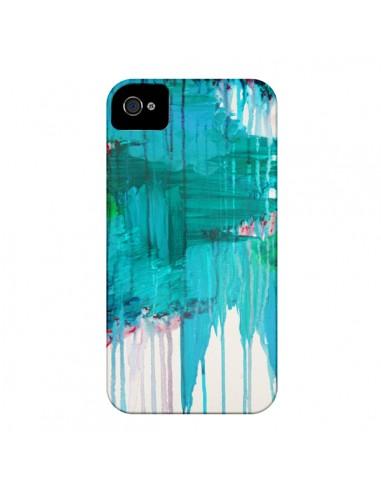 Coque Blue Monsoon pour iPhone 4 et 4S - Ebi Emporium