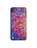 Coque Fleurs Bleues Roses Splash pour iPod Touch 5 - Ebi Emporium