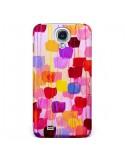 Coque Pois Roses Dottie pour Galaxy S4 - Ebi Emporium