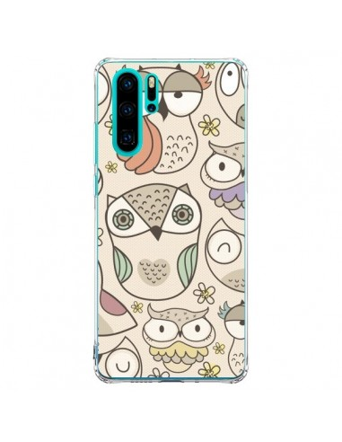 Coque Huawei P30 Pro Chouette Vintage...