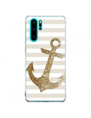 Coque Huawei P30 Pro Ancre Or Navire...