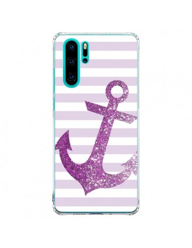 Coque Huawei P30 Pro Ancre Rose...