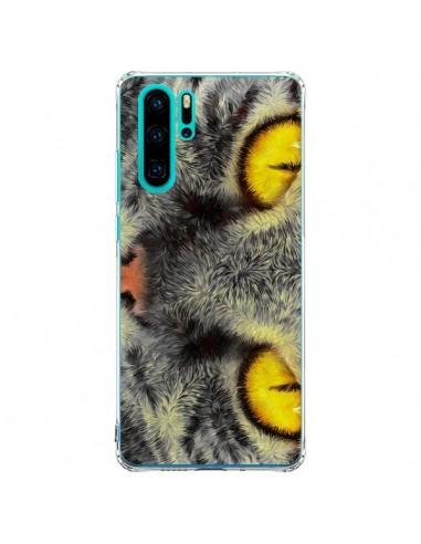 Coque Huawei P30 Pro Chat Gato Loco -...