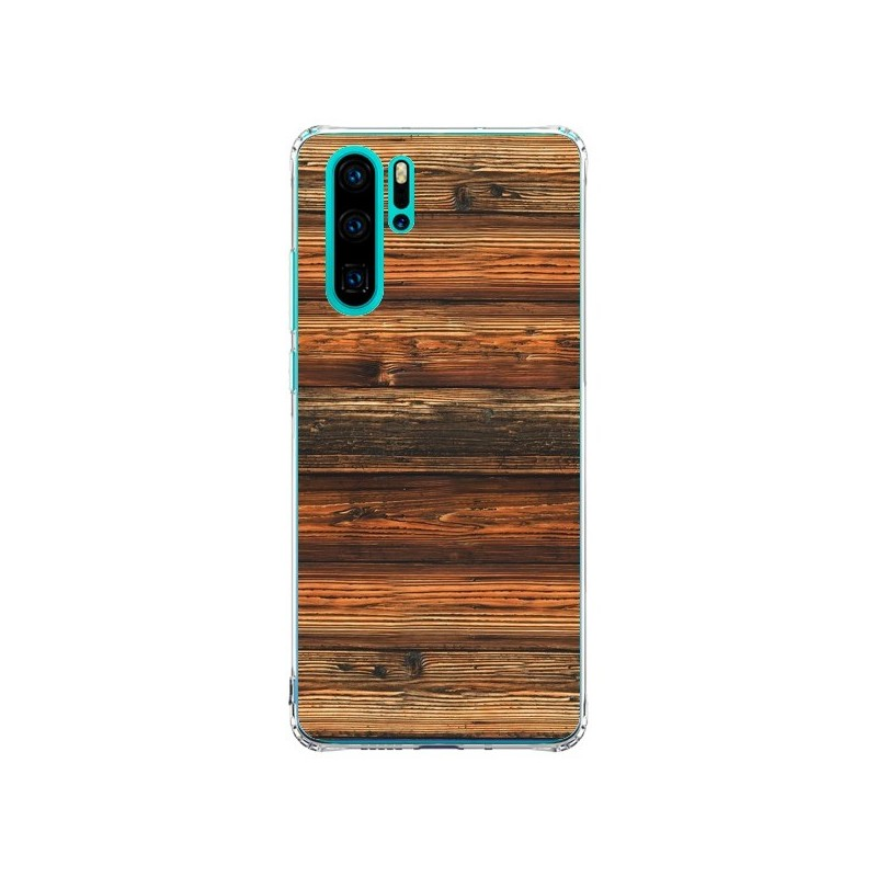 Coque Huawei P30 Pro Style Bois Buena...