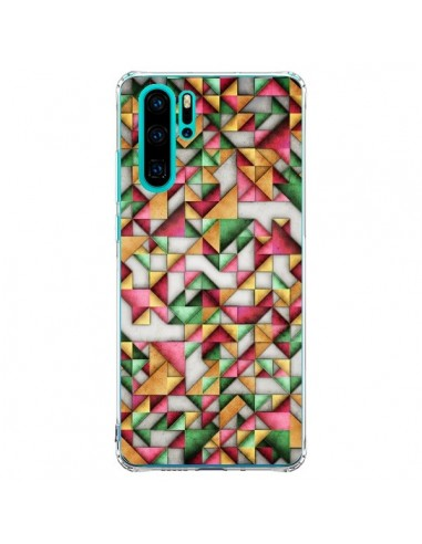 Coque Huawei P30 Pro Azteque Triangle...