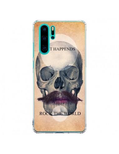 Coque Huawei P30 Pro Rock Skull Tête...