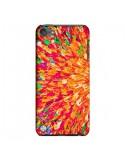 Coque Fleurs Oranges Neon Splash pour iPod Touch 5 - Ebi Emporium