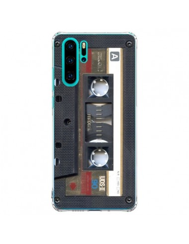 Coque Huawei P30 Pro Cassette Gold K7...