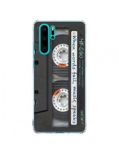 Coque Huawei P30 Pro Cassette Words...