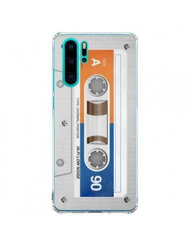 Coque Huawei P30 Pro White Cassette...