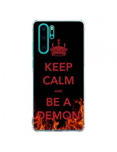 Coque Huawei P30 Pro Keep Calm and Be...