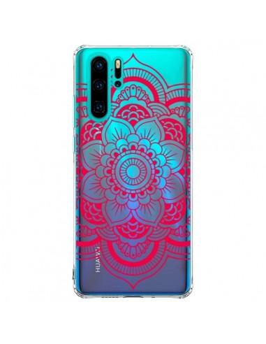 Coque Huawei P30 Pro Mandala Rose...
