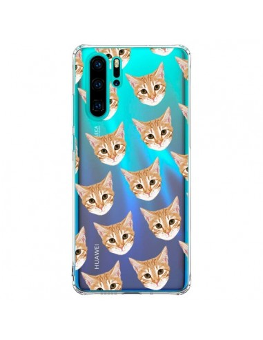 Coque Huawei P30 Pro Chats Beige...