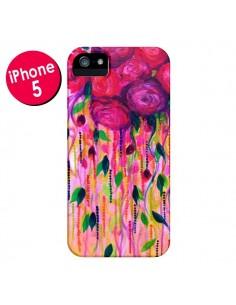 Coque Roses Rouges pour iPhone 5 et 5S - Ebi Emporium