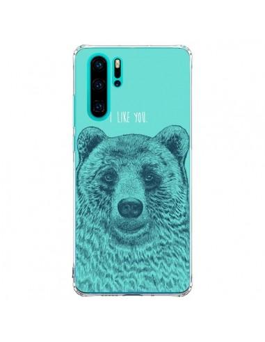Coque Huawei P30 Pro Bear Ours I like...