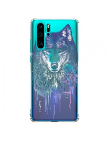 Coque Huawei P30 Pro Loup Wolf Animal...