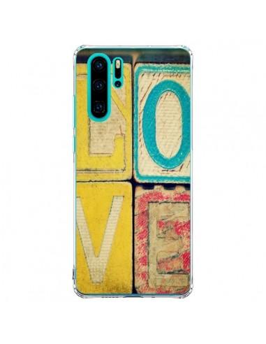 Coque Huawei P30 Pro Love Amour Jeu -...
