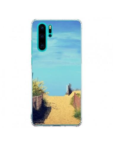 Coque Huawei P30 Pro Plage Beach Sand...