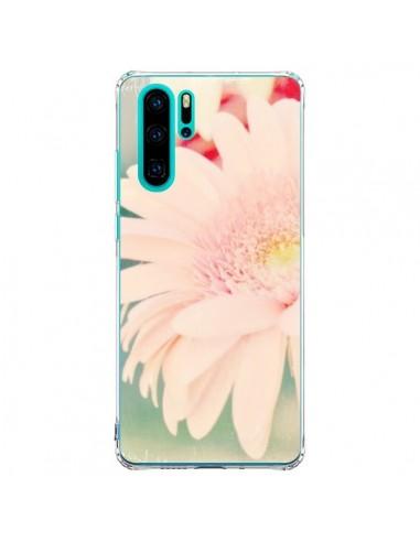 Coque Huawei P30 Pro Fleurs Roses...