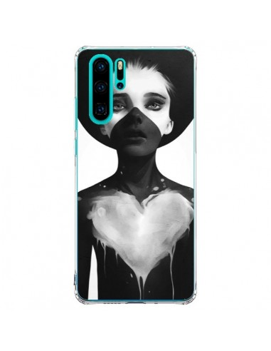 Coque Huawei P30 Pro Fille Coeur Hold...