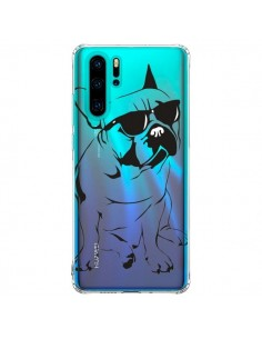 Coque Huawei P30 Pro Chien Bulldog Dog Transparente - Yohan B.