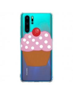 Coque Huawei P30 Pro Cupcake Cerise Transparente - Yohan B.