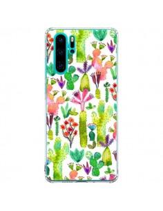 Coque Huawei P30 Pro Cacti Garden - Ninola Design